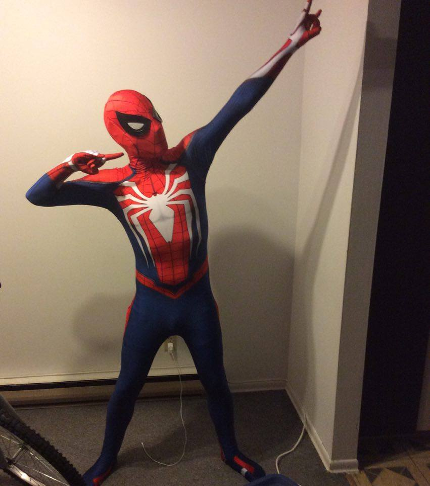 Insomniac Spiderman 3D PS4 Game Insomniac Spider man Zentai Costumes Lycra Games Spidey Cosplay Suit with Lenses Free Shipping-in Game Costumes from Novelty ... & Insomniac Spiderman 3D PS4 Game Insomniac Spider man Zentai Costumes ...
