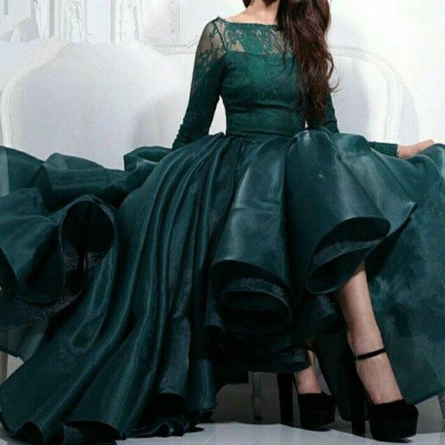 Arabische abendkleider plus größe langen ärmeln spitze abendkleid ...