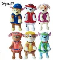 HziriP New Patrol Dog Toys Plush Backpacks Cartoon Dolls Stuffed Animals School Bags For Kindergarten Kids