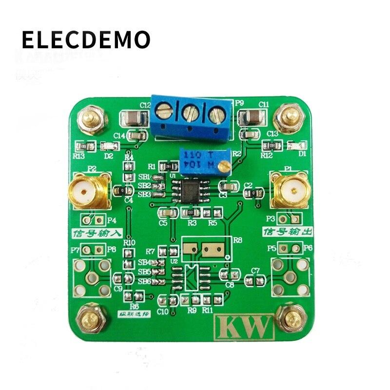 OPA365 Module High Performance Operational Amplifier Module 50MHz Bandwidth Zero Crossover Distortion Topology