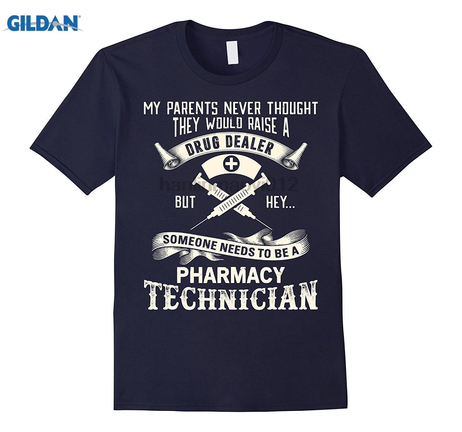 GILDAN Be A Pharmacy Technician T Shirt, Pharmacy Technician Shirt glasses Womens T-shirt