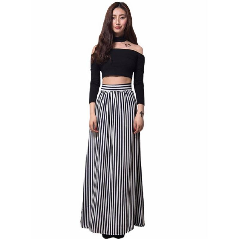 Black Straight Maxi Skirt Promotion-Shop for Promotional Black ...