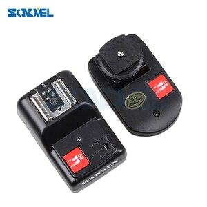 Image 4 - Profesyonel 4 kanal kablosuz uzaktan Speedlite evrensel flaş tetik Canon Nikon Pentax Olympus için PT 04GY ücretsiz kargo