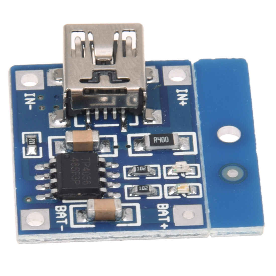 TP4056 1A Lithium Battery Charging Lipo charger embarks Module DIY Mini USB Port Blue