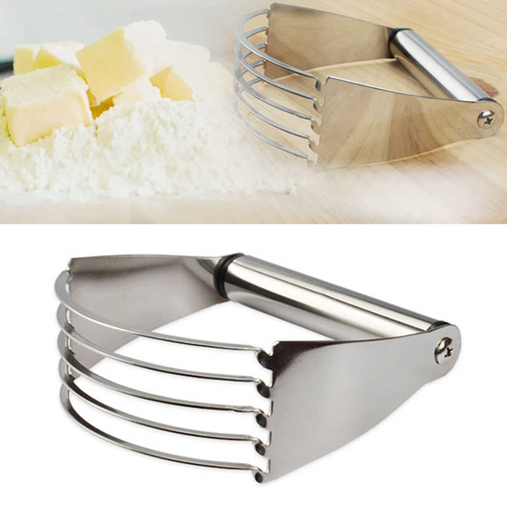 New arrival Stainless Steel Flour Mixer Dough Kneading Machine Baked Essential Kitchen Gadgets Egg Mixer Kitchen Blender Baking