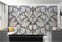 Personnalisé 3D grande fresque, Européenne style rétro main motif dessiné, salon canapé TV mur enfants chambre mur papier