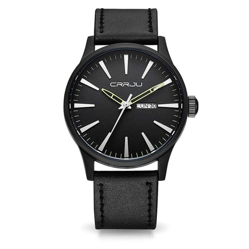 b8ce07e5800 Mens Relógios de Luxo Da Marca Relógios de Quartzo dos homens De Negócios  de Moda Casual De Quartzo-Relógio Masculino À Prova D  Água relógio de Pulso  ...