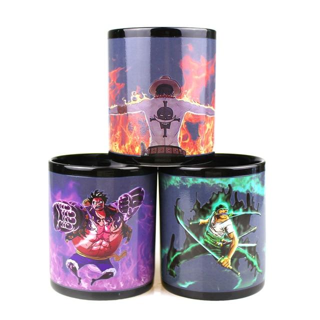One Piece Luffy Zoro Ace Gear Fourth Mug
