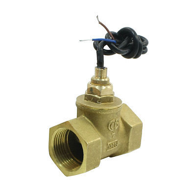 SEN-HS25 30mm/1PT Female Thread Brass Piston Flow Switch Flowmeter 30L/Min 70W sen hs32 70w 150l min 39mm in line adjustable piston water flow switch