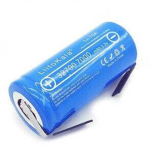 Image 4 - 2019 LiitoKala 3.2V 32700 7000mAh 6500mAh LiFePO4 bateria 35A ciągłe rozładowanie maksymalnie 55A bateria o dużej mocy + arkusze niklu