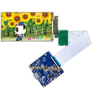 Pantalla LCD 4k de 5,5 pulgadas, 3840X2160 UHD, Panel de visualización para Raspberry pi 3, modelo B + con HDMI, controlador de placa MIPI 60hz
