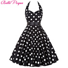 Save 25.23 on Women Vintage 50s Summer Big Swing Dress Plus Size Clothing 2017 Robe Retro Casual Party Vestidos Polka Dot Rockabilly Dresses