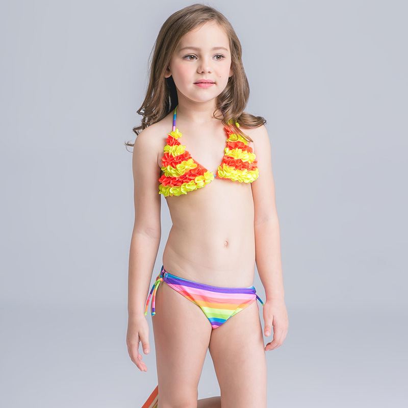 d24680807c Bikini Set Junior Girls swimsuit cute little fish swimming suit infant Girl  Children Bathing Suit For Girls African Swimwear-in Bikinis Set from Sports  ...