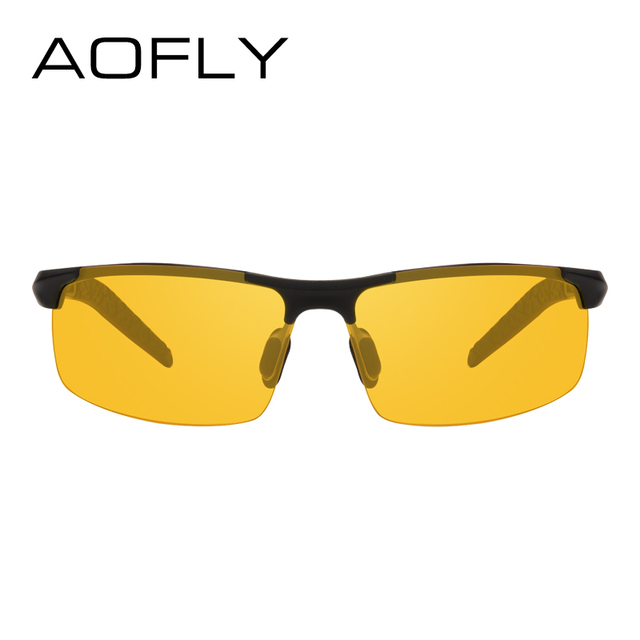 AOFLY Brand Design Anti-Glare Goggles Eyeglasses Polarized Sunglasses Yellow Lens Night Vision Driving Glasses Men Women AF8054 2