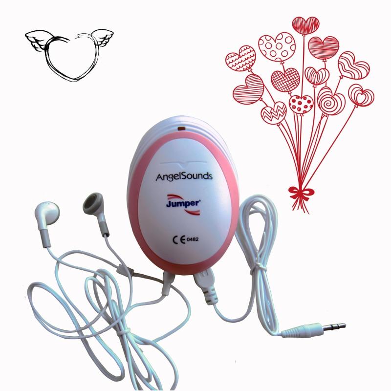 Two units Fetal Doppler Portable Pocket Ultrasound Fetal Monitor Prenatal Monitor Angel Sound Series Factory Directly portable 5 7 color lcd fetal maternal monitor fetal monitor twins monitor bfm 700