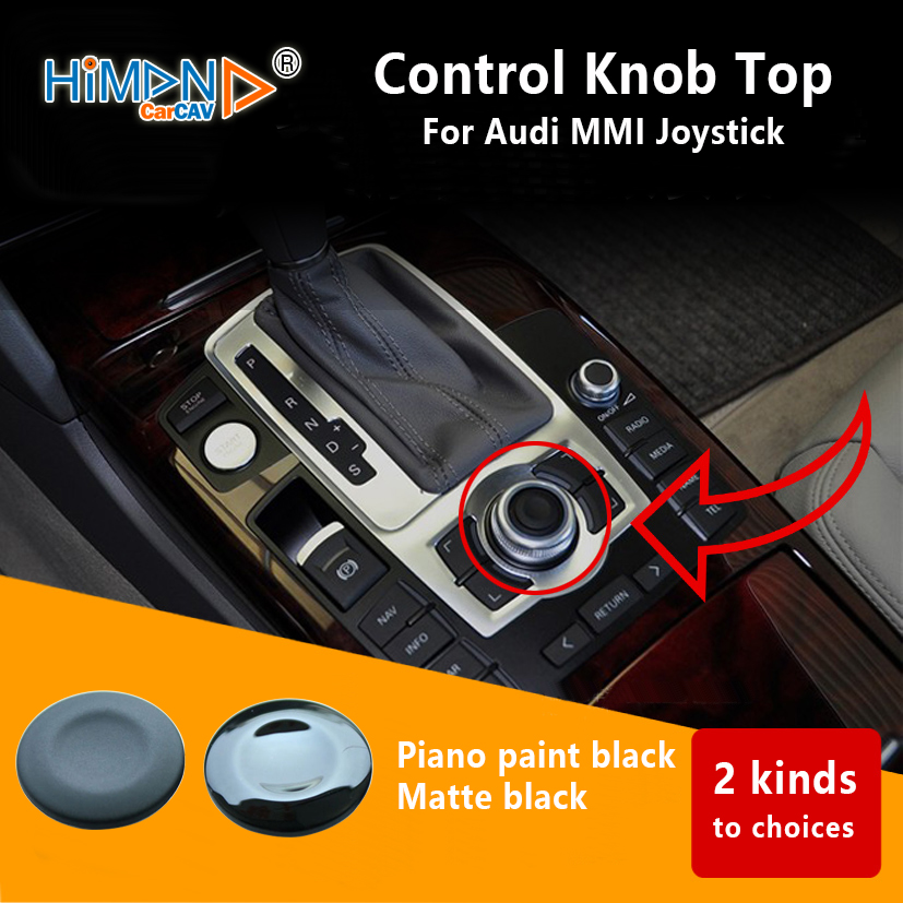 US $12 1 |OEM Audi Repair Kit for Joystick From MMI Turn Knob Joystick  Control Knob Top New Genuine8K0998068A-in Fascias from Automobiles &