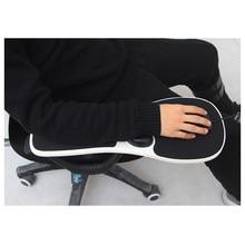 Silla reposabrazos Mouse Pad brazo reposamuñecas Mosue Pad ergonómico mano hombro apoyo almohadillas DJA99