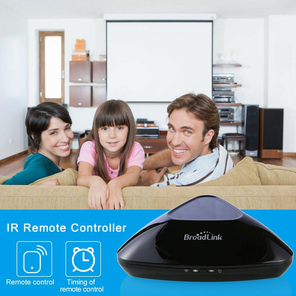 Broadlink RM Pro RM03 RM pro +, smart domotique WIFI + IR + RF Universel Intelligent commutateur de commande à distance
