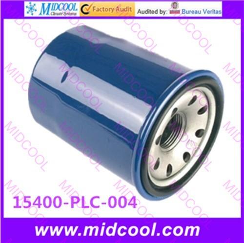 O envio gratuito de Alta qulality filtro de Óleo filtro De Combustível PARA 15400PLC004 15400-PLC-004