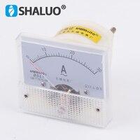 85L1 pequeno 0 ~ 30A AC Ampere Amperímetro Ampere medidor medidor de ponteiro mecânico