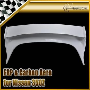 Car-styling For Nissan 350Z VS FRP Fiber Glass Convertible Rear Boot Trunk Wing Fiberglass Auto Accessories Racing Spoiler