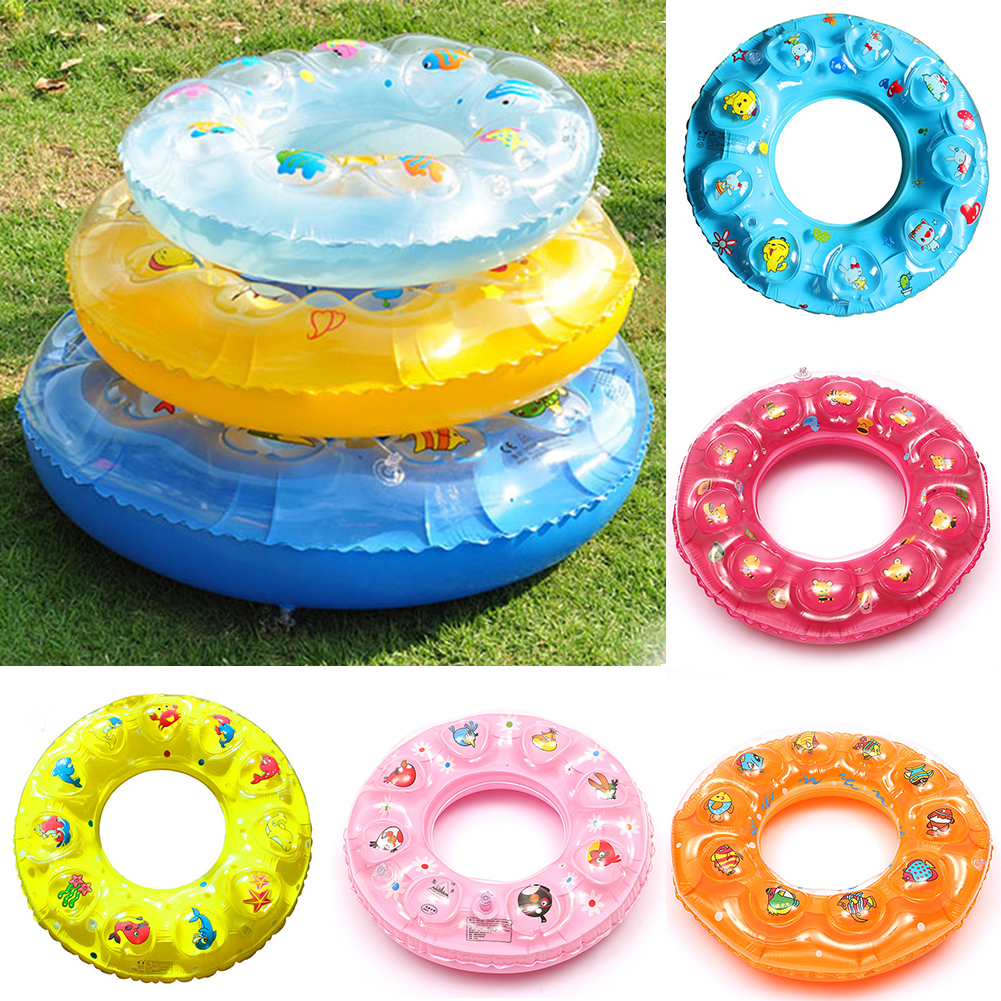 Product details of new inflatable floating swim ring kids children toy - Aliexpress Com Buy Kids Children Cute Cartoon Inflatable Circle Swimming Ring Boys Girls Water Sports Safety Protection Float Swim Ring From Reliable
