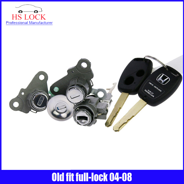 ФОТО professional Locksmith Supplies for Old fit full-lock 2004-2008year With Car Key Locksmith Tools