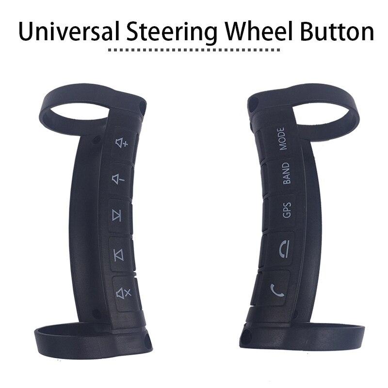 Accessoires de voiture universel sans fil couvre-volant contrôleur Botton pour Toyota Honda Civic 2006-2011 Peugeot 307 206 308 - 6