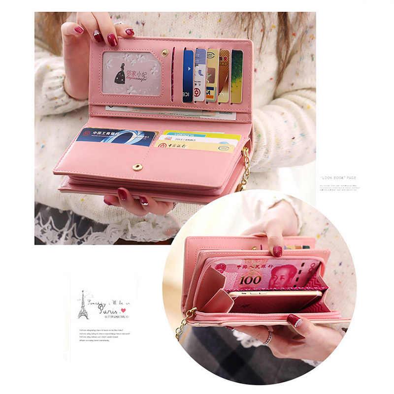 Women Purses Female Tassel Lovely Coin Purse Card Holder Girls Cute Long Clutch Bags For Women 2019 Wallet Women Passport Cover