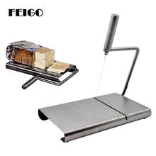 FEIGO 1Pcs Stainless Steel Cheese Knife Butter Cutter Dough Cutters Plane Grater Slicing Tools Kitchen Gadget F472