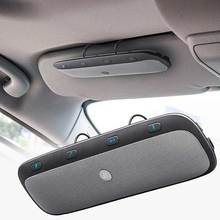 НОВЫЙ Солнцезащитный козырек Беспроводной Bluetooth Handsfree Car Kit Динамик телефон аудио Музыка Динамик для iPhone 7 Plus Huawei Коврики 9 CSL2017