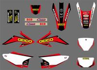 New Style TEAM GRAPHICS BACKGROUNDS Stickers For Honda CRF150 CRF230 CRF150F CRF230F 2008 2014 CRF 150 230