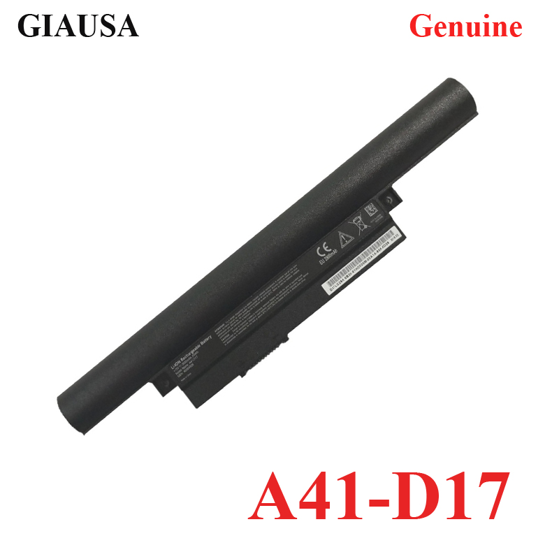 GIAUSA Genuine A41-D17 Laptop Battery For Medion Akoya E7415 E7415T E7419 E7416 P7647 P7643 E7420 P7643(China)
