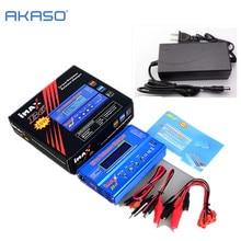 Батарея lipro баланс Зарядное устройство Imax B6 зарядное lipro Цифровой баланс Зарядное устройство + 12 В 5A Мощность адаптер + Зарядка Кабели