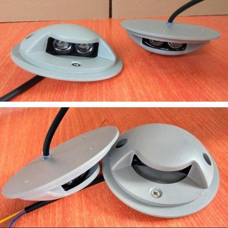 2W 3W LED Footlights Embedded Corner Lamp LED Outdoor Lights LED Step Light Steps Waterproof LED