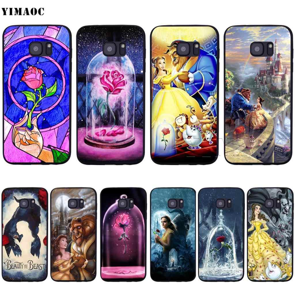 YIMAOC Beauty And The Beast Soft Silicone Case for Samsung Galaxy S6 S7 S10e Edge S8 S9 Plus A3 A5 A6 A7 A8 A9 J6 Note 8 9 2018
