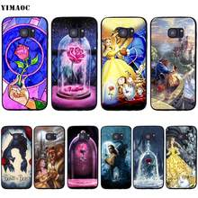 YIMAOC Beauty And The Beast Soft Silicone Case for Samsung Galaxy S6 S7 S10e Edge S8 S9 Plus A3 A5 A6 A7 A8 A9 J6 Note 8 9 2018(China)