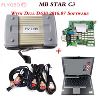 2019 Best Quality MB STAR C3 Diagnostic Tool with Software HDD MB C3 Pro Diagnosis Multiplexer with D630 Diagnostic Laptop