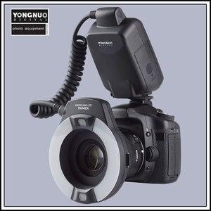 Image 2 - Yongnuo YN 14EX YongnuoYN 14EX TTL LED מאקרו Speedlite טבעת פלאש אור עבור Canon 5D Mark II 5D סימן III 6D 7D 60D 70D 700D 650D