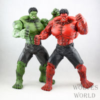 26cm Avengers Hulk Action Figure Super Hero Red Hulk Movable Hulk PVC Figure Collectible Model Toys Gift For Kids