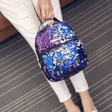 Stylish Sequined Backpack