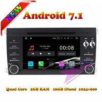 Wanusual 2 г + 16 ГБ Android 7,1 автомобильный мультимедийный DVD Авто плеер для poesche Cayenne 2003 2004 2005 2006 2007 2008 2009 2010 gps Navi