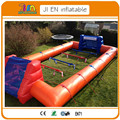 12mL*6mW*1mH side tubes,inflatable soccer field, inflatable football pitch, inflatable football field