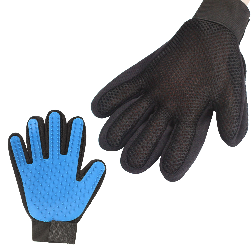 Silicone Pet Grooming Glove Brush 4