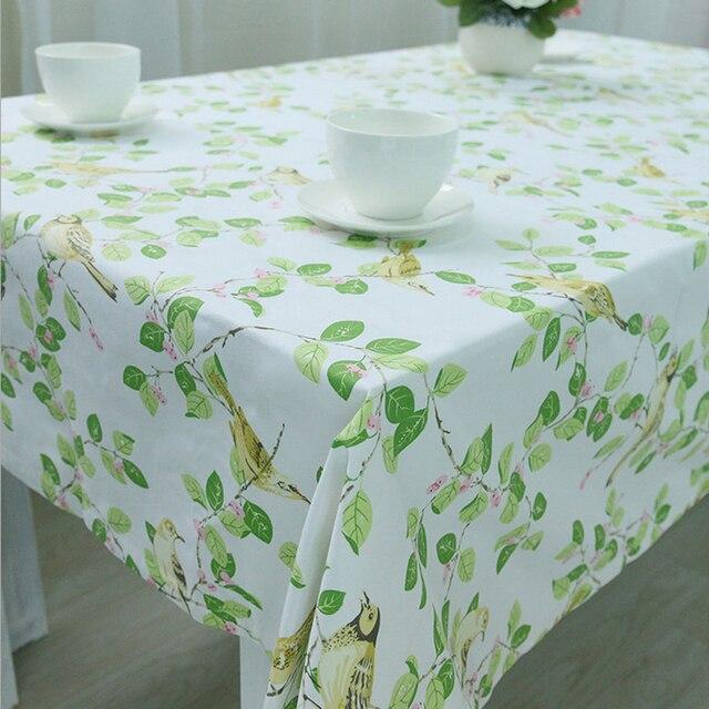 Mantel pastoral decoración del paño de tabla del ganchillo hojas ...