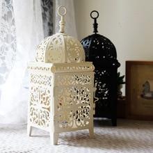 Metal Hollow Candlestick Craft Moroccan Decoration