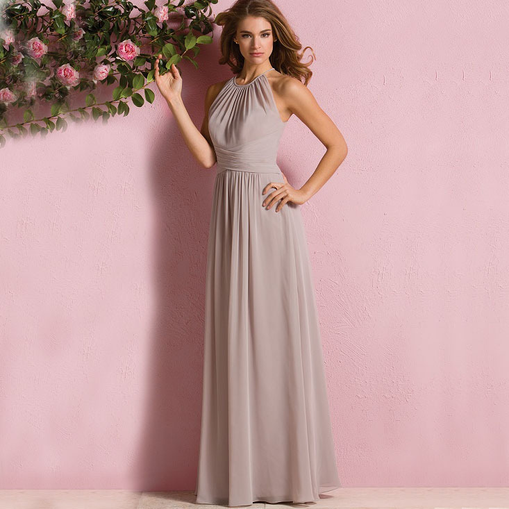 Light brown bridesmaid dresses promotion shop for for Brown dresses for wedding