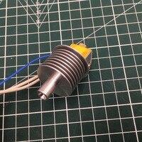 1 pcs Flashforge Guider 2 3D printer EXTRUSORA Hot End kit de MONTAGEM do dissipador de calor de baixa temperatura versão Guider 2 S hotend set. 75mm|Peças e acessórios em 3D| |  -