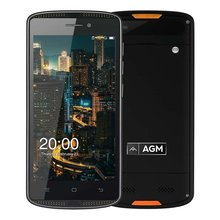 AGM X1 Mini 4G LTE Smartphone Android 6.0 5.0″ Quad Core 2GB RAM 16GB ROM 8.0MP 4000mAh IP68 Waterproof Shockproof Mobile Phone