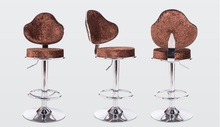 office bar chair tea house stool blue red brown color for seletion home children rotation lifting chair